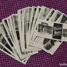 Fotografía antigua: ESTEREÓSCOPO MIGNON - 39 FOTOGRAMAS/FOTOS DE PUBLICIDAD PASTELERÍA POSTRE MARTI - 1900 - RARÍSIMOS. Lote 105940035