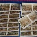 Fotografía antigua: ANTIGUA Y VINTAGE - SERIE COMPLETA - BARCELONA - 1ª SERIE - 15 IMÁGENES ESTEREO - RELLEY - HAZ OFERT. Lote 105977351