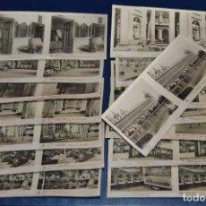 Fotografía antigua: ANTIGUA Y VINTAGE - SERIE COMPLETA - ESCORIAL - 2ª SERIE - 15 IMÁGENES ESTEREO - RELLEY - HAZ OFERT. Lote 105977699