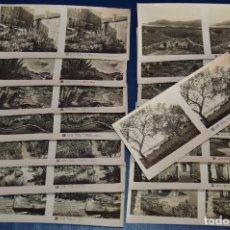 Fotografía antigua: ANTIGUA Y VINTAGE - SERIE COMPLETA - COSTA BRAVA - 2ª SERIE - 15 IMÁGENES ESTEREO - RELLEY. Lote 105978027