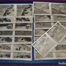 Fotografía antigua: ANTIGUA Y VINTAGE - SERIE COMPLETA - PIRINEO DE GERONA - 4ª SERIE - 15 IMÁGENES ESTEREO - RELLEY. Lote 105978143