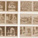 Fotografía antigua: LOTE 15 FOTOGRAFIA ESTEREOSCOPICA SEVILLA TURISMO PRACTICO 2ª SERIE COMPLETA. Lote 106598151