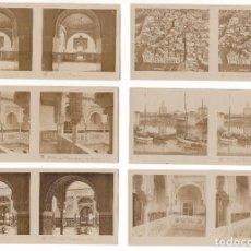 Old photograph - LOTE 15 FOTOGRAFIA ESTEREOSCOPICA SEVILLA TURISMO PRACTICO 2ª SERIE COMPLETA - 106598151
