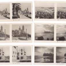 Fotografía antigua: LOTE 15 FOTOGRAFIA ESTEREOSCOPICA SITGES BARCELONA TURISMO PRACTICO 1ª SERIE COMPLETA. Lote 106598835
