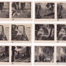 Fotografía antigua: LOTE 15 FOTOGRAFIA ESTEREOSCOPICA CAMPRODÓN GIRONA CATALUÑA TURISMO PRACTICO 1ª SERIE COMPLETA. Lote 106599235