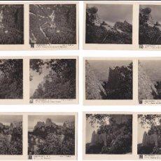 Old photograph - LOTE 27 FOTOGRAFIA ESTEREOSCOPICA BARCELONA MONTSERRAT TURISMO PRACTICO - 106606399