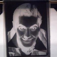 Fotografía antigua: ANTIGUA ESTEREOSCOPIA EN CRISTAL - FOTOGRAFIA ACTOR AÑOS 30 40 TYRONE POWER - HOLLYWOOD. Lote 108434555