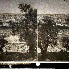 Fotografía antigua: LOTE DE 14 FOTO EN CRISTAL ESTEREOSCOPIA PARA VISOR DE PP S XX. Lote 110921019