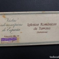 Fotografía antigua: TARRASA, BARCELONA - VISTAS ESTEREOSCOPICAS DE ESPAÑA - COLECCION Nº 114 - 15 VISTAS STEREO RELLEV. Lote 111266411