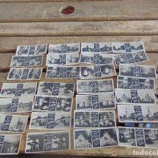 Fotografía antigua: LOTE DE 28 FOTOGRAFIAS CROMOS ESTEROSCOPICOS PUBLICIDAD ARTICULOS PARA FOTOGRAFAS ESCOBAR MADRID. Lote 112392191
