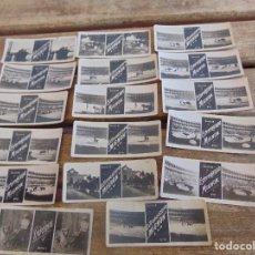 Fotografía antigua: LOTE DE 17 FOTOGRAFIAS CROMOS ESTEROSCOPICOS PUBLICIDAD ESTEOROSCOPO MIGNON TOROS. Lote 112976399