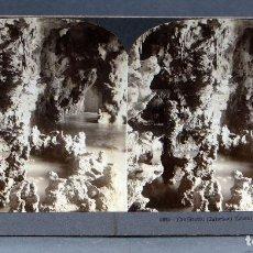 Fotografía antigua: VISTA ESTEREOSCÓPICA EGIPTO CAIRO GRUTAS EZBEKIYEH KEYSTONE VIEW COMPANY PP S XX. Lote 113593235