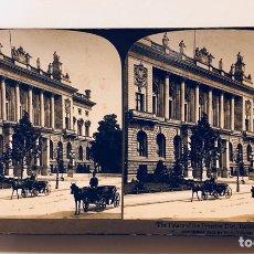 Fotografía antigua: FOTOGRAFÍA ESTEREOSCOPICA AMERICAN STEREOSCOPIC COMPANY BERLIN GERMANY. Lote 113885008