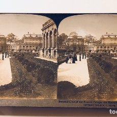 Fotografía antigua: FOTOGRAFÍA ESTEREOSCOPICA AMERICAN STEREOSCOPIC COMPANY DRESDEN GERMANY. Lote 113888639