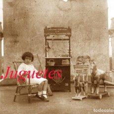 Fotografía antigua: JUGUETES - 1930'S - BARCELONA - NEGATIVO DE VIDRIO. Lote 114766867