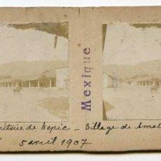 Fotografía antigua: MÉXICO, TEPIC, ESTADO DE NAYARIT, AMATLAN DE CAÑAS, 5/04/1907, INGENIERO DE MINAS L. LEGRAND . Lote 115204839