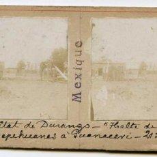 Fotografía antigua: MÉXICO, ESTADO DE DURANGO, 21/06/1907, INGENIERO DE MINAS L. LEGRAND . Lote 115214915