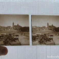 Fotografía antigua: SALAMANCA 8 VISTAS ESTEREOSCOPICAS PLACAS DE CRISTAL 1927. Lote 117026547