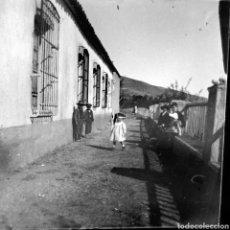 Fotografía antigua: DOS PLACAS ESTEREOSCOPICAS CORRELATIVAS. 1900-1910 SUR DE ESPAÑA. Lote 117290724