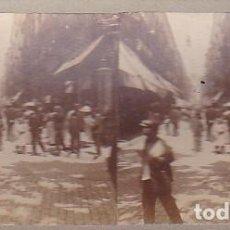 Fotografía antigua - FOTOGRAFIA ESTEREOSCOPICA BARCELONA CALLE FERNANDO - 117827531