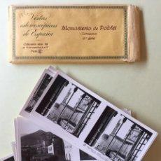 Fotografía antigua: MONASTERIO DE POBLET- TARRAGONA- VISTAS ESTEREOSCOPICAS 2º SERIE- 1.93.... Lote 118367275