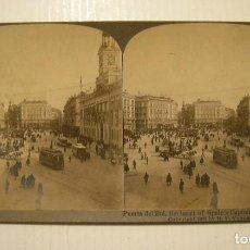 Old photograph - MADRID PUERTA DEL SOL. FOTOGRAFIA ESTEREOSCOPICA. AMERICAN STEREOSCOPIC. CO.EN BUEN ESTADO - 119484195