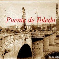 Fotografía antigua: MADRID - PUENTE DE TOLEDO - 1930'S - NEGATIVO DE VIDRIO . Lote 121662971