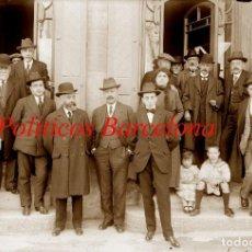 Fotografía antigua: PARTIDO POLITICO - BARCELONA - 1915 - 1920 - NEGATIVO DE VIDRIO . Lote 121667283