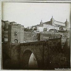 Fotografía antigua: TOLEDO CRISTAL ESTEREOSCÓPICO POSITIVO CA 1880-1900 FOTOGRAFIA. Lote 122186087