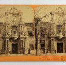 Fotografía antigua: FOTO ALBUMINA ESTEREOSCOPICA.ENTRADA PALACIO MONTPENSIER,SEVILLA,NUM 2513.FOTOGRAFÍA DE JEAN ANDRIEU. Lote 122580663