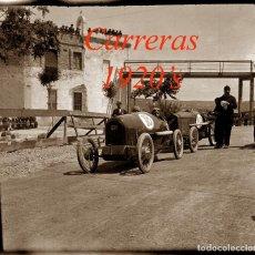 Fotografía antigua: CARRERAS - PENYA RHIN - SITGES - 1920'S - NEGATIVO DE ACETATO - 6 X 6 CM. . Lote 123560351