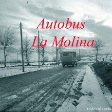 Fotografía antigua: AUTOBUS - LA MOLINA - 1930'S - NEGATIU D'ACETAT . Lote 124032675