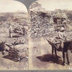 Fotografía antigua: ALMORAIMA - CÁDIZ - CORCHERA - 1907 . Lote 126686567