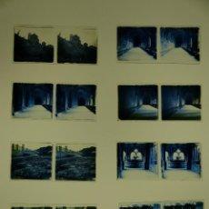 Fotografía antigua: TARRAGONA, POBLET, SANTES CREUS - 17 CRISTALES ESTEREOSCOPICOS - AÑOS 1930-40. Lote 127770267
