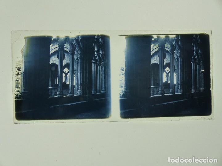 Fotografía antigua: TARRAGONA, POBLET, SANTES CREUS - 17 CRISTALES ESTEREOSCOPICOS - AÑOS 1930-40 - Foto 12 - 127770267