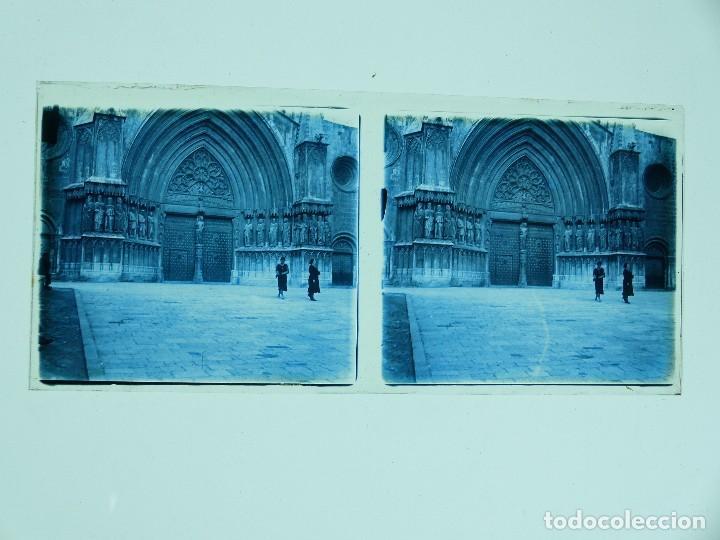 Fotografía antigua: TARRAGONA, POBLET, SANTES CREUS - 17 CRISTALES ESTEREOSCOPICOS - AÑOS 1930-40 - Foto 15 - 127770267