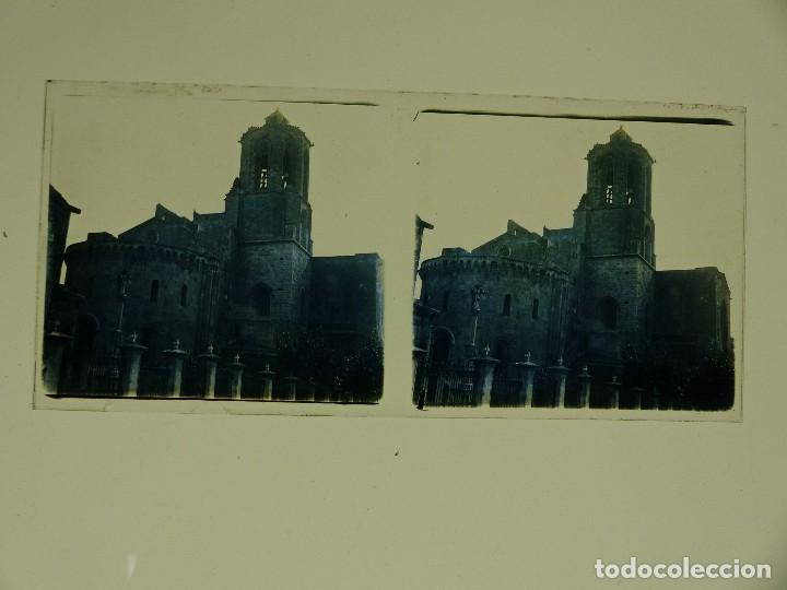 Fotografía antigua: TARRAGONA, POBLET, SANTES CREUS - 17 CRISTALES ESTEREOSCOPICOS - AÑOS 1930-40 - Foto 17 - 127770267