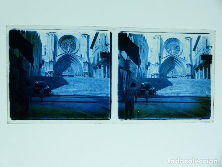 Fotografía antigua: TARRAGONA, POBLET, SANTES CREUS - 17 CRISTALES ESTEREOSCOPICOS - AÑOS 1930-40 - Foto 19 - 127770267