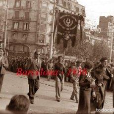 Old photograph - GUERRA CIVIL - BARCELONA - 1936 - 1937 - CENTRO REPUBLICANO FEDERAL - 2 NEGATIVOS DE VIDRIO - 128239319