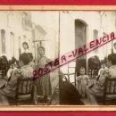 Fotografía antigua: FOTOGRAFIA , FOTO ESTEREOSCOPICA , PUEBLO DE VALENCIA , ANTIGUA , ORIGINAL , FC1. Lote 128248979