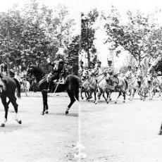 Fotografía antigua: VALENCIA - REINA VICTORIA EUGENIA - NEGATIVO EN CRISTAL ESTEREOSCOPICO - AÑOS 1920-30. Lote 128365915