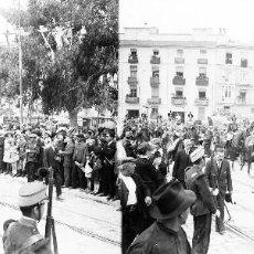 Fotografía antigua: VALENCIA - REINA VICTORIA EUGENIA - NEGATIVO EN CRISTAL ESTEREOSCOPICO - AÑOS 1920-30. Lote 128367347