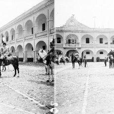 Fotografía antigua: VALENCIA - REYES ALFONSO XIII Y VICTORIA EUGENIA -NEGATIVO EN CRISTAL ESTEREOSCOPICO - AÑOS 1920-30. Lote 128368667