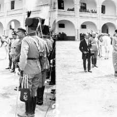 Fotografía antigua: VALENCIA - REINA VICTORIA EUGENIA - NEGATIVO EN CRISTAL ESTEREOSCOPICO - AÑOS 1920-30. Lote 128369203