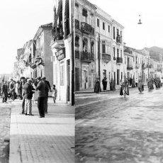 Fotografía antigua: VALENCIA - SEMANA SANTA EL CABAÑAL - NEGATIVO EN CRISTAL ESTEREOSCOPICO - AÑOS 1920-30. Lote 128370071