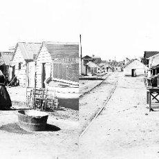 Fotografía antigua: VALENCIA - POBLAT DEL CABAÑAL - NEGATIVO EN CRISTAL ESTEREOSCOPICO - AÑOS 1920-30. Lote 128370251