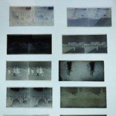 Fotografía antigua: BARCELONA- 18 CRISTALES NEGATIVOS Y POSITIVOS ESTEREOSCOPICOS -AÑOS 1910-1920, VER FOTOS ADICIONALES. Lote 128757367