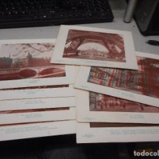 Fotografía antigua: COLECCION FOTOGRAFIAS ESTEREOSCOPICAS DEL 1 AL 10 FALTANDO NUMERO 7 DE PARIS BOTTU. Lote 128766735
