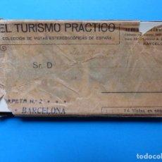 Fotografía antigua: BARCELONA - 14 VISTAS ESTEREOSCIPICAS EL TURISMO PRACTICO - AÑOS 1920-30 - VER FOTOS ADICIONALES. Lote 129092879