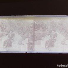 Fotografía antigua: VALENCIA - VISTA - NEGATIVO EN CRISTAL ESTEREOSCOPICO - AÑOS 1910-20. Lote 130300370